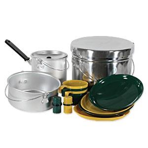 Cook Sets, Mess Kits & Utensils