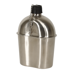 02-0123055000-wwii-style-canteen-STAINLESS STEEL