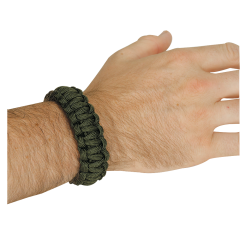 02-0156000000-nylon-cord-survival-bracelet-2-pack-od-olive-drab-on-wrist