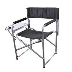 STANSPORT FOLDING DIRECTOR'S CHAIR WITH SIDE TABLE