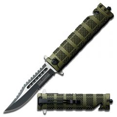 Assisted Opening Commando Folding Knife