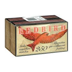 RED BIRD STRIKE ANYWHERE MATCHES  2 PACK