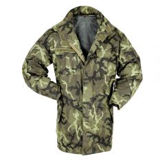 CZECH M95 CAMO PARKA WITH LINER
