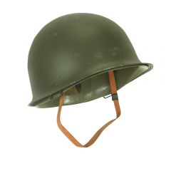 BELGIAN STEEL POT HELMET NEW WITH LINER