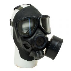 M40 FIELD PROTECTIVE GAS MASK INCLUDES NEW UNUSED FILTER