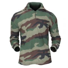 FRENCH MILITARY SURPLUS FLEECE SHIRT