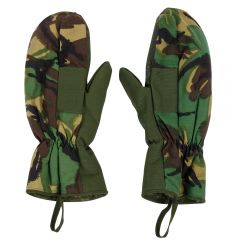 BRITISH MILITARY ARCTIC MITTENS WITH TRIGGER FINGER