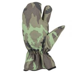 CZECH MILITARY SURPLUS M95 CAMOUFLAGE TRIGGER MITTENS