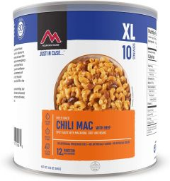 MOUNTAIN HOUSE CHILI MAC WITH BEEF #10 CAN CL