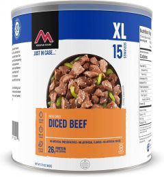 MOUNTAIN HOUSE #10 CAN DICED BEEF