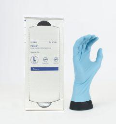 FLEXAM POWDER FREE  STERILE NITRILE  GLOVES  BOX OF 40 PAIRS - SIZE LARGE