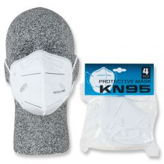 KN95 MULTI-LAYER DISPOSABLE MASK 4 PACK