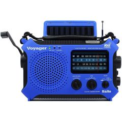 KA500 VOYAGER DYNAMO & SOLAR POWERED RADIO