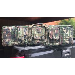 42 inch  Padded Weapons Case Woodland Camo