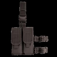 20-9308000000-drop-leg-platform-with-double-m4-m16-mag-pouches-BLACK-FRONT-MAIN