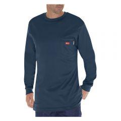 30-0373000000-dickies-flame-resistant-long-sleeve-tee-navy-front-main