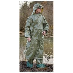 CHEMICAL PROTECTION PONCHO SET INCLUDES GLOVES AND BOOTIES