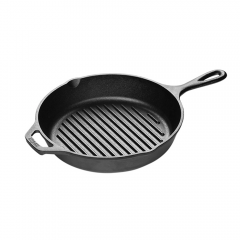 "10.25"" Lodge Cast Iron Grill Pan"